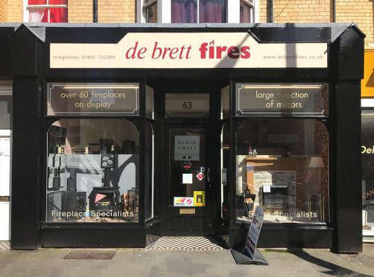 Debrett Fires Showroom