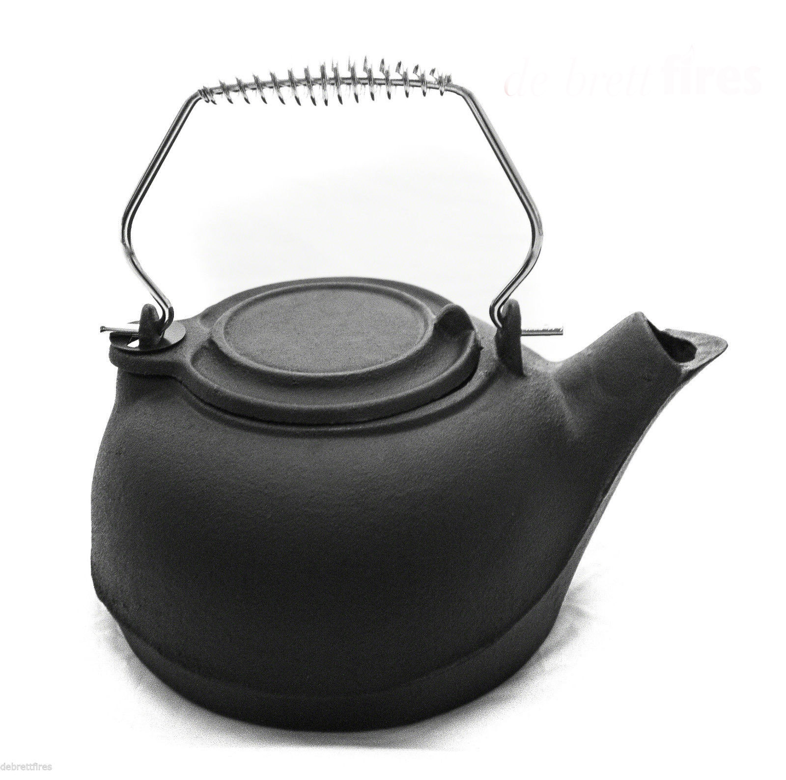 Black Cast Iron Kettle / Humidifier Debrett Fires #545653