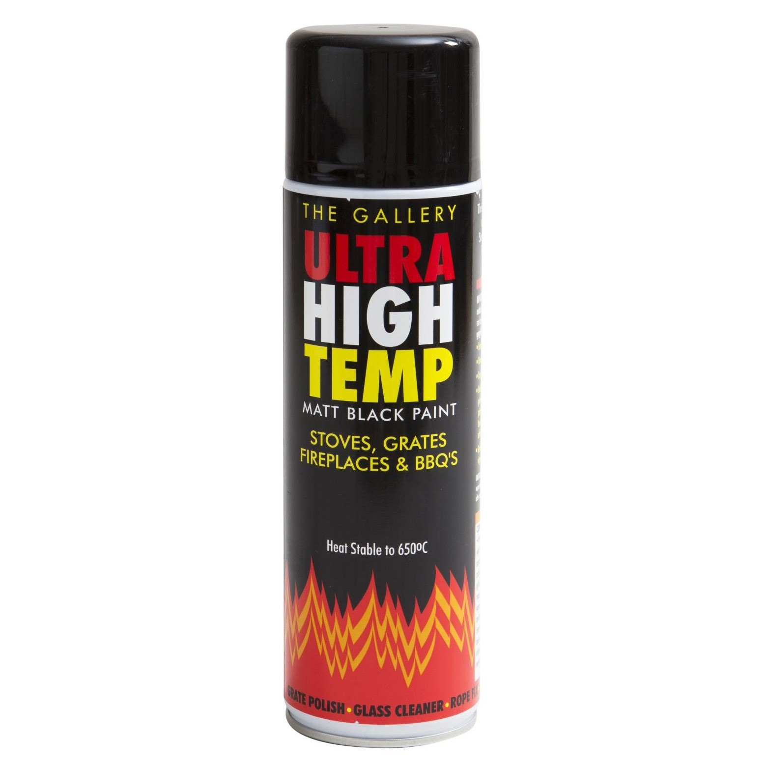High Heat Black Stove Paint