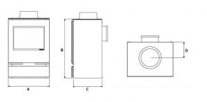 Riva vision dimensions