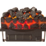 "Appleby Replacement Electric Inset Fire Basket (16"")"