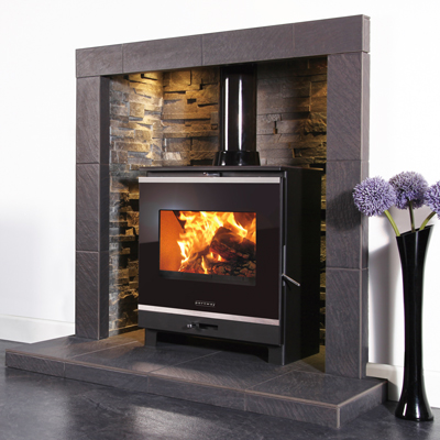 Portway 2 Glass Multifuel Stove Free Lighting Box Debrett Fires
