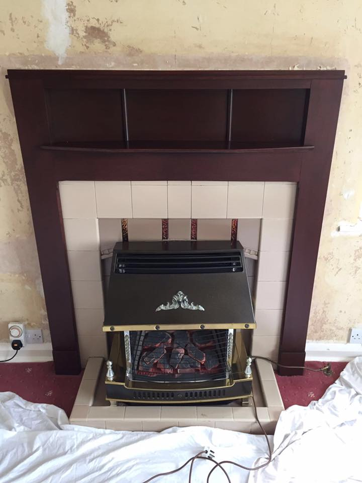 a 22 electric fire fit
