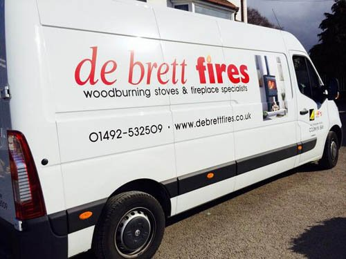 Debrett Fires Fire and Fireplace Showroom - New Van