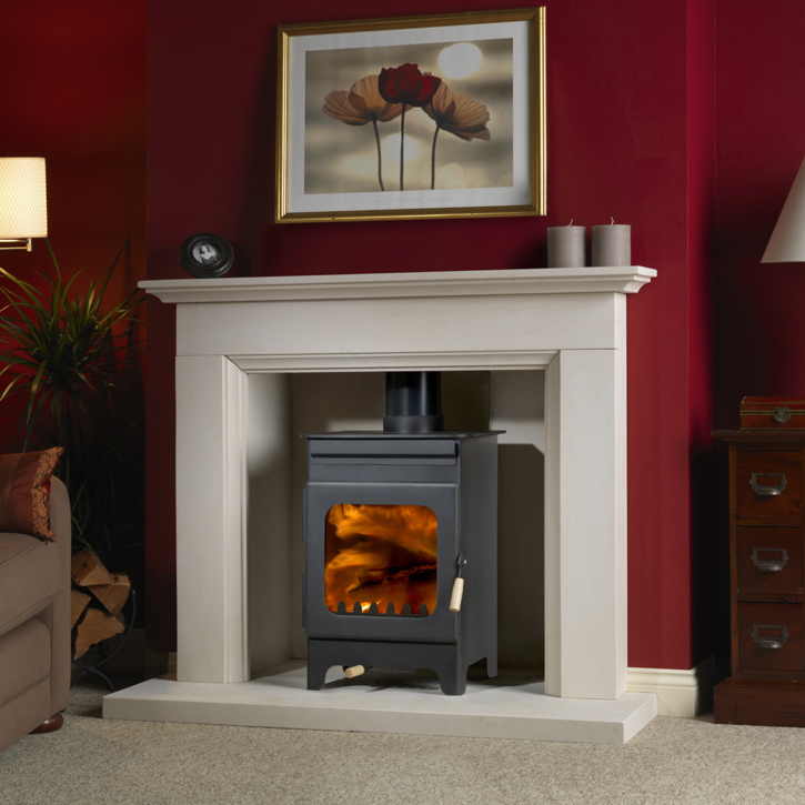 Burley Hollywell Stove Efficient Wood Burning 5kw Stove