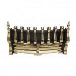16 inch Blenheim BlackBrass with Brass Ashpan Cover