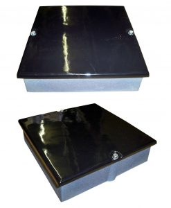9 x 6 Soot Door Enamel Black Gloss