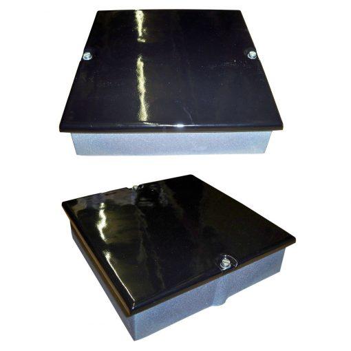 9 x 6 Soot Door Enamel Black Gloss
