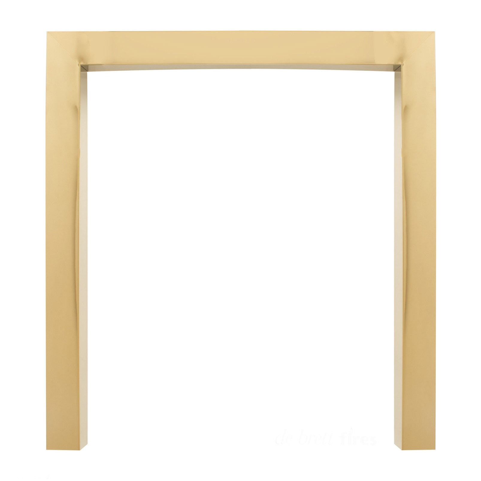 The 18 Inch 46cm Replacement Fire Trim In Brass Black