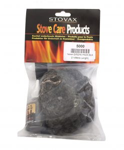STOVAX 14mm Black Rope Kit Door Seal