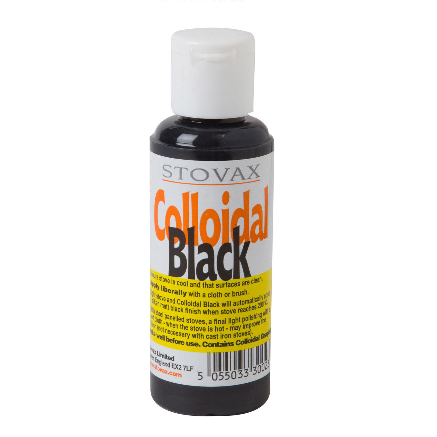 18 black soot from gas fireplace stovax black colloidal
