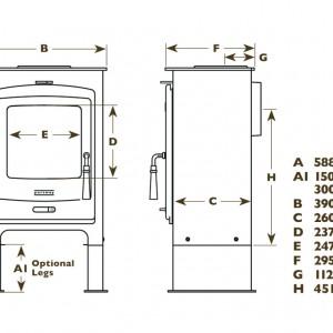 Portway 1 dimensions