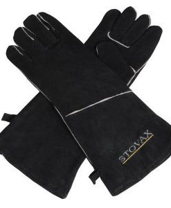 Stovax Extra Long Leather Stove Gloves