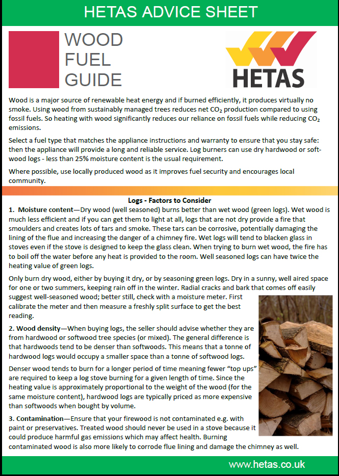 hetas-advice-sheet-wood-fuel