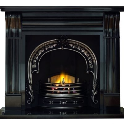 "Granite 60"" Corbel Mantel"