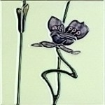 gallery jazz lilac ivory Victorian tiles