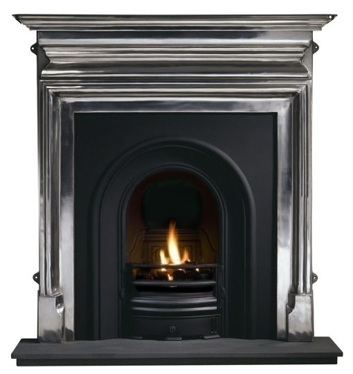 "Palmerston 54"" Full Polished Mantel"