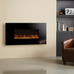 gazco radiance black glass