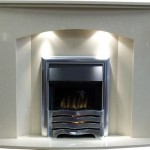 Paris 48'' Fireplace with LED Lights