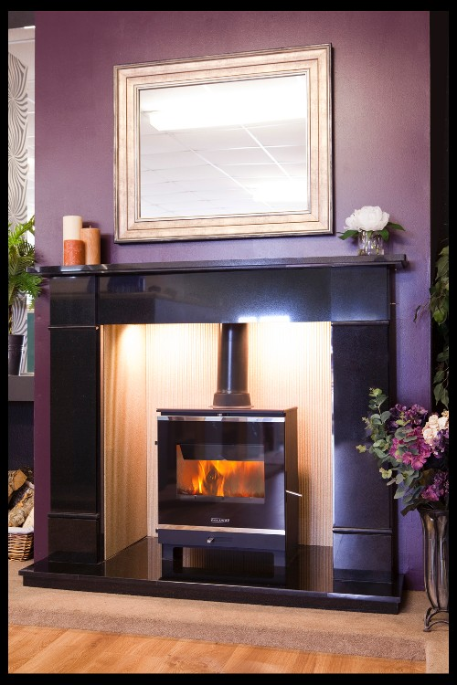 Portway 2 Glass Multifuel Stove Free Lighting Box