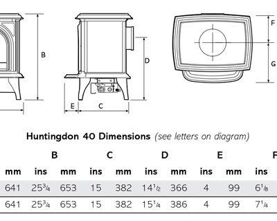 Gazco Huntingdon 40
