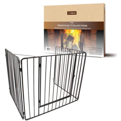 Heritage Premium Stove Guard with Gate